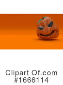 Halloween Clipart #1666114 by KJ Pargeter