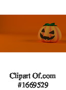 Halloween Clipart #1669529 by KJ Pargeter