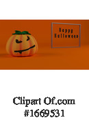 Halloween Clipart #1669531 by KJ Pargeter