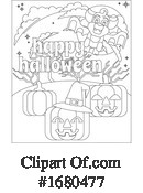 Halloween Clipart #1680477 by AtStockIllustration