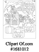 Halloween Clipart #1681012 by AtStockIllustration