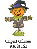 Halloween Clipart #1681161 by visekart