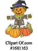 Halloween Clipart #1681163 by visekart