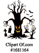 Halloween Clipart #1681164 by visekart