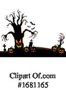 Halloween Clipart #1681165 by visekart