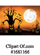 Halloween Clipart #1681166 by visekart