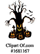 Halloween Clipart #1681167 by visekart