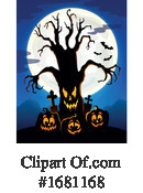 Halloween Clipart #1681168 by visekart