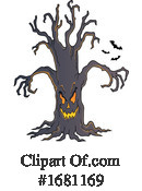Halloween Clipart #1681169 by visekart