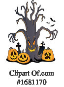 Halloween Clipart #1681170 by visekart
