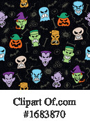 Halloween Clipart #1683870 by Zooco