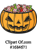 Halloween Clipart #1684671 by Vector Tradition SM