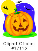 Halloween Clipart #17116 by Maria Bell