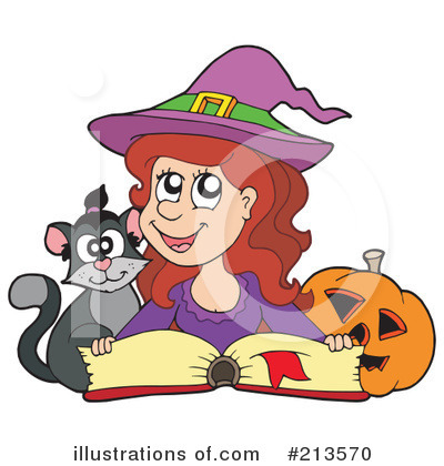 Spell Book Clipart #213570 by visekart