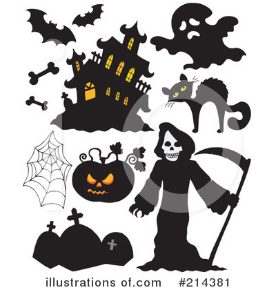 Haunted House Clipart #214381 by visekart