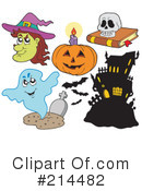 Halloween Clipart #214482 by visekart