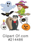 Halloween Clipart #214486 by visekart