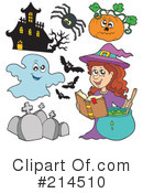 Halloween Clipart #214510 by visekart
