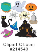 Halloween Clipart #214540 by visekart