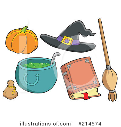 Spell Book Clipart #214574 by visekart