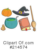 Halloween Clipart #214574 by visekart