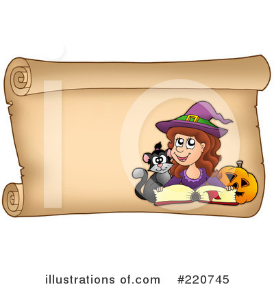 Spell Book Clipart #220745 by visekart