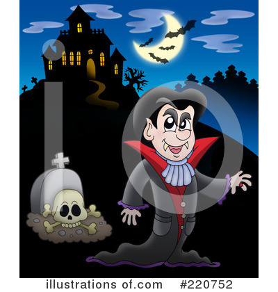 Haunted House Clipart #220752 by visekart