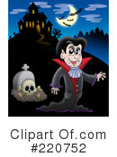 Royalty-Free (RF) Halloween Clipart Illustration #220752