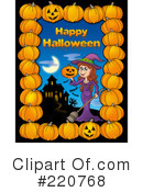Halloween Clipart #220768 by visekart