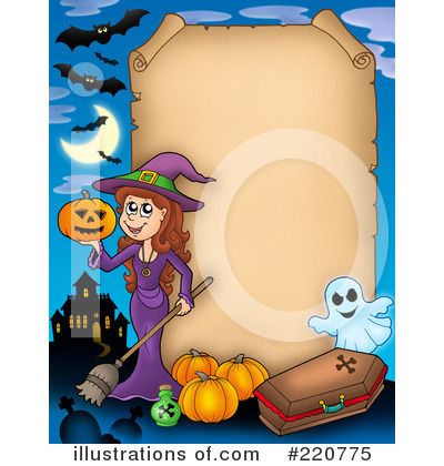 Witch Clipart #220775 by visekart