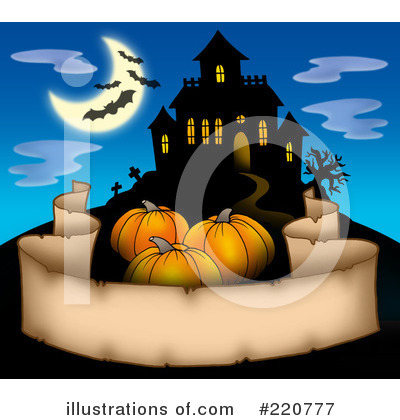 Haunted House Clipart #220777 by visekart