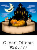 Royalty-Free (RF) Halloween Clipart Illustration #220777