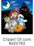 Halloween Clipart #220783 by visekart