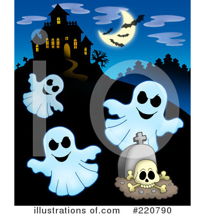 Haunted House Clipart #220790 by visekart