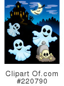 Royalty-Free (RF) Halloween Clipart Illustration #220790