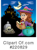 Halloween Clipart #220829 by visekart