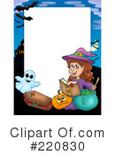 Halloween Clipart #220830 by visekart
