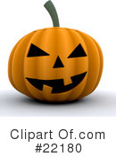 Halloween Clipart #22180 by KJ Pargeter