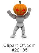 Halloween Clipart #22185 by KJ Pargeter