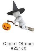 Royalty-Free (RF) Halloween Clipart Illustration #22186