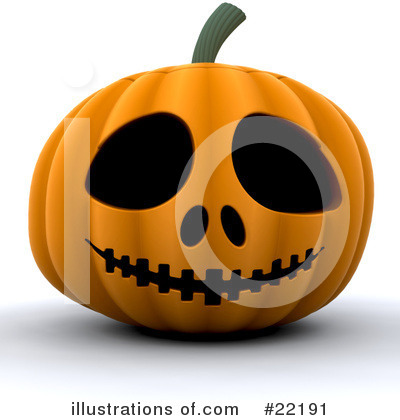 Halloween Pumpkins Clipart #22191 by KJ Pargeter