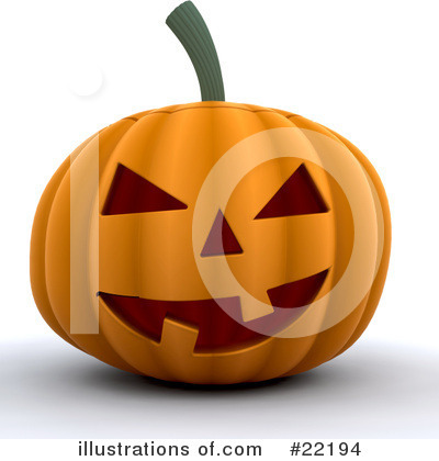Halloween Pumpkins Clipart #22194 by KJ Pargeter