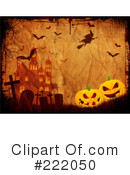 Royalty-Free (RF) Halloween Clipart Illustration #222050
