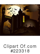 Royalty-Free (RF) Halloween Clipart Illustration #223318