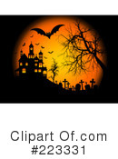 Royalty-Free (RF) Halloween Clipart Illustration #223331