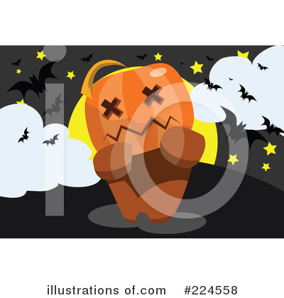 Pumpkin Clipart #224558 by mayawizard101