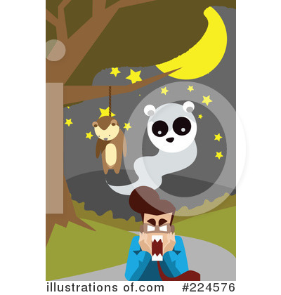 Royalty-Free (RF) Halloween Clipart Illustration by mayawizard101 - Stock Sample #224576