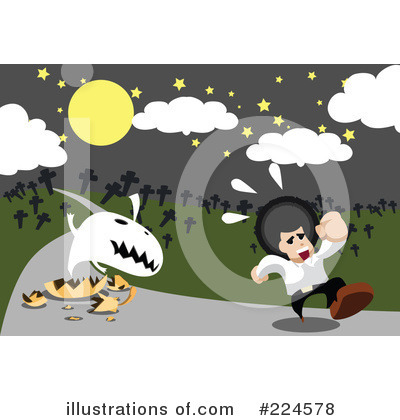 Royalty-Free (RF) Halloween Clipart Illustration by mayawizard101 - Stock Sample #224578