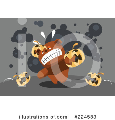 Royalty-Free (RF) Halloween Clipart Illustration by mayawizard101 - Stock Sample #224583