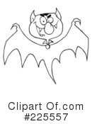 Royalty-Free (RF) Halloween Clipart Illustration #225557
